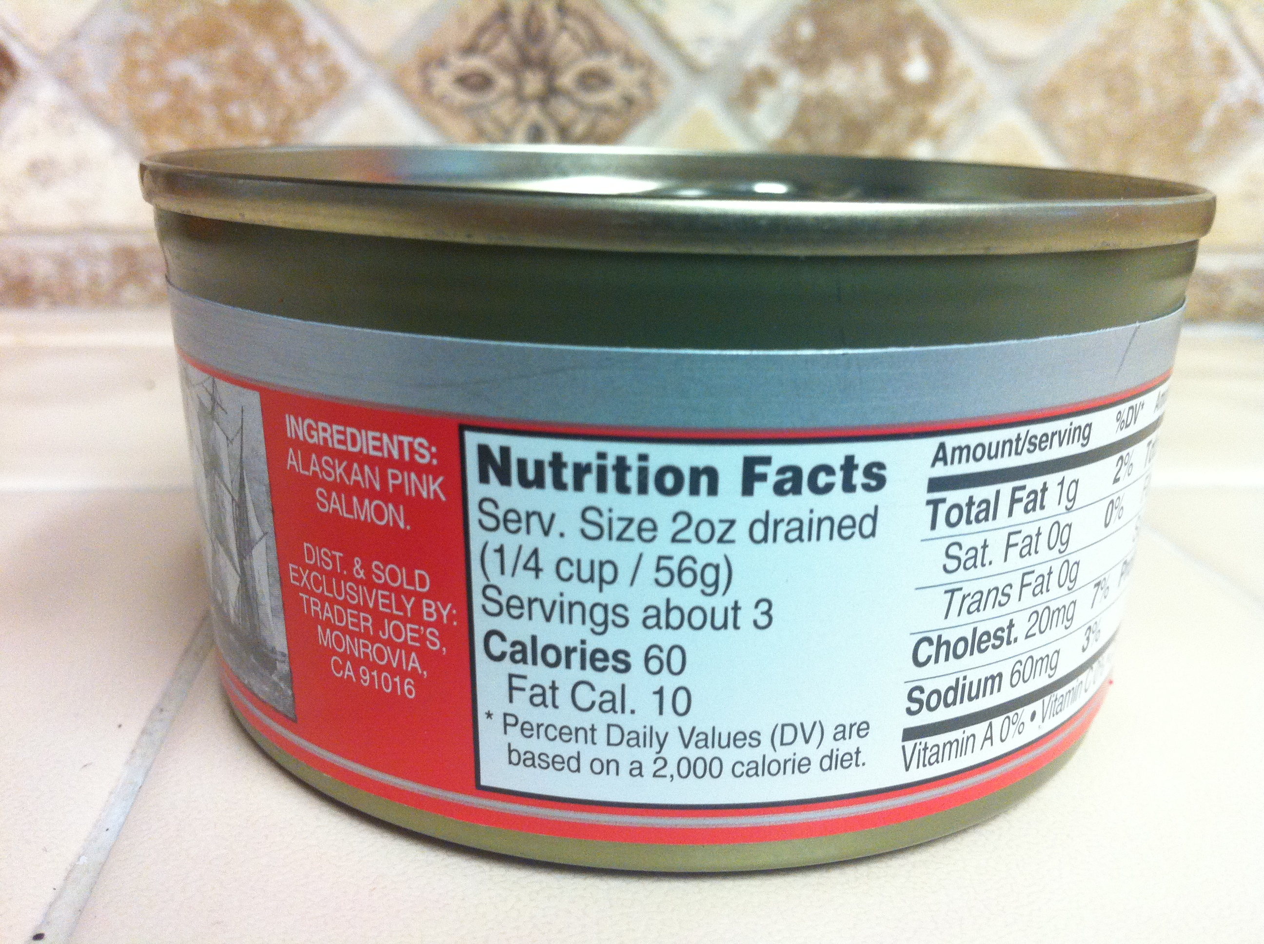 Grocery labels ingredients guide bare 5 for Trader joe s fish oil