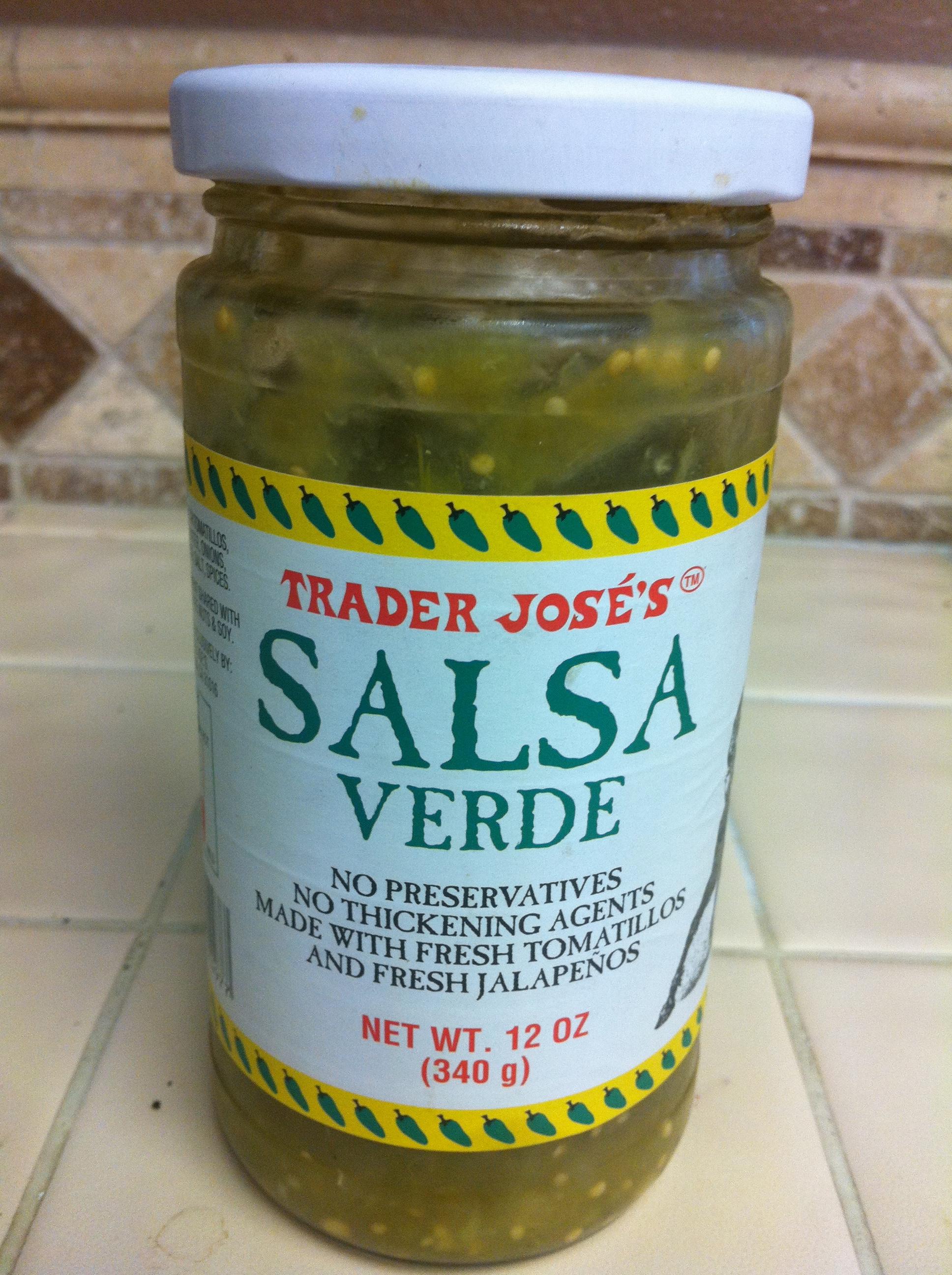 Trader jose 39 s salsa verde for Trader joe s fish oil