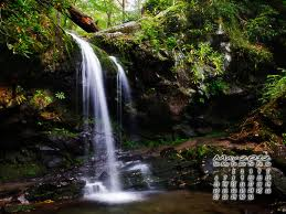 may calender waterfall